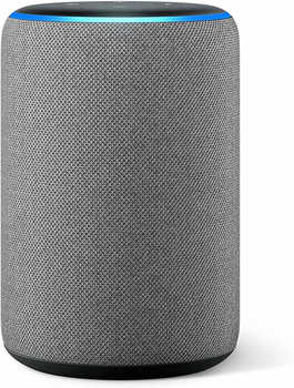 Amazon Echo (3. Generation) Hellgrau Stoff