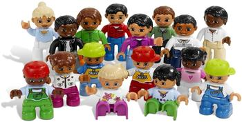 LEGO Duplo Leute aus aller Welt Figuren