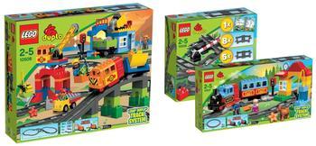 Lego Duplo Mega-Eisenbahnset (10506+10507)