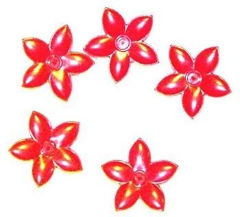 Lego Duplo 5 Blumen rot