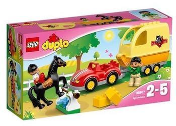 LEGO Duplo - Wagen mit Pferdeanhänger (10807)