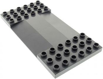 Lego Duplo Übergang dunkel grau (95463)