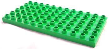Lego Duplo Bauplatteplatte grün