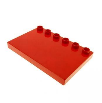 Lego Duplo Bauplatte rot (31465)