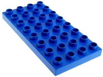 LEGO Duplo Bauplatte blau C 20