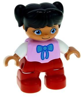 Lego Duplo Figur Mädchen mit roter Hose PB032 (47205)