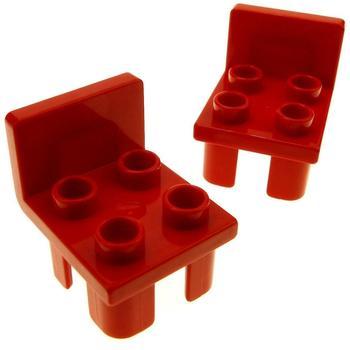 Lego Duplo Stuhl rot (6478)