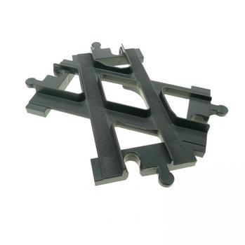 LEGO Duplo Schiene dunkel grau (6376)
