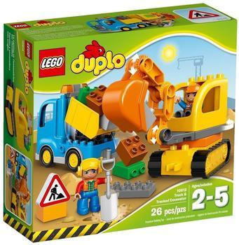 LEGO Duplo - Bagger & Lastwagen (10812)