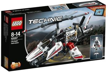 LEGO Technic - 2 in 1 Ultraleicht-Hubschrauber (42057)