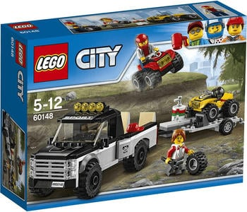 LEGO City - Quad Rennteam (60148)