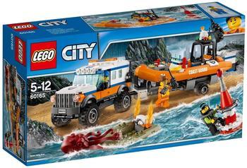 LEGO City - Geländewagen mit Rettungsboot (60165)