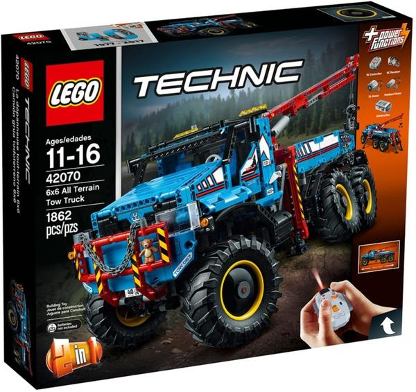 LEGO Technic - 2 in 1 Allrad-Abschleppwagen (42070)