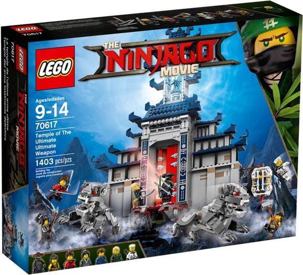 LEGO Ninjago - Ultimatives Tempel-Versteck (70617)