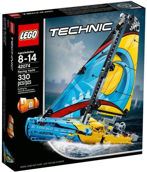 Lego Technic Rennyacht 42074 Ab 2147 Günstig Im