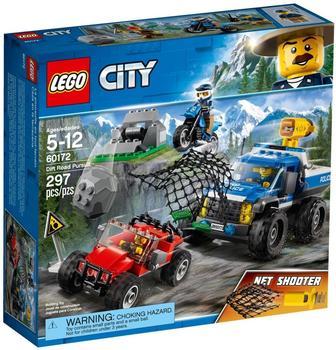 LEGO City - Verfolgungsjagd auf Schotterpisten (60172)