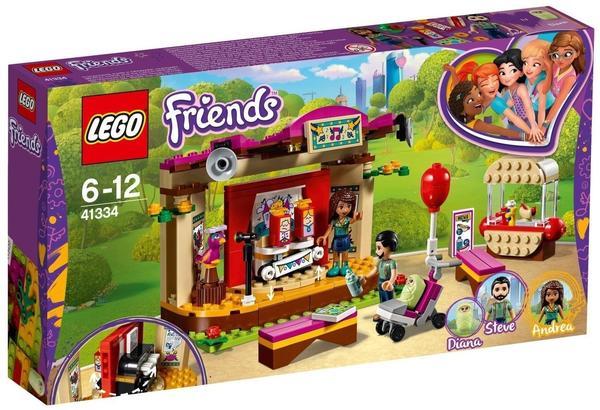 LEGO Friends - Andreas Bühne im Park (41334)