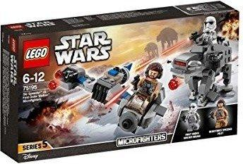 LEGO Star Wars - Ski Speeder vs. First Order Walker Microfighters (75195)