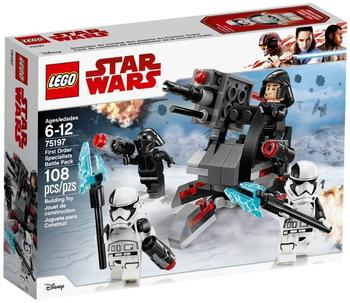 LEGO Star Wars - First Order Specialists Battle Pack (75197)