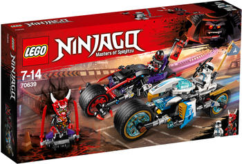 LEGO Ninjago - Straßenrennen des Schlangenjaguars (70639)