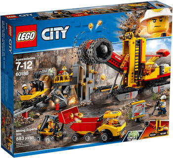 LEGO City - Bergbauprofis an der Abbaustätte (60188)