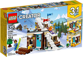 LEGO Creator - 3-in-1 Modulares Wintersportparadies (31080)