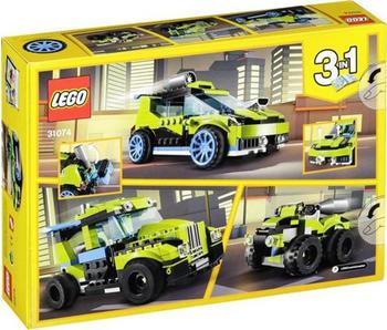 LEGO Creator - 3-in-1 Raketen-Rallyeflitzer (31074)