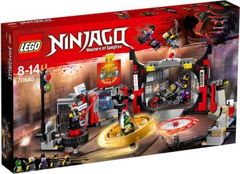 LEGO Ninjago - Hauptquartier der Motorradfahrer (70640)