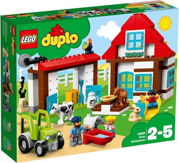 LEGO Duplo - Ausflug auf den Bauernhof (10869)