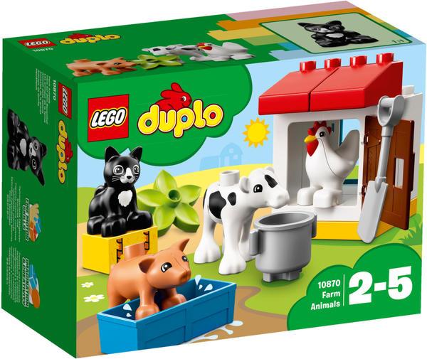 LEGO Duplo - Tiere auf dem Bauernhof (10870)