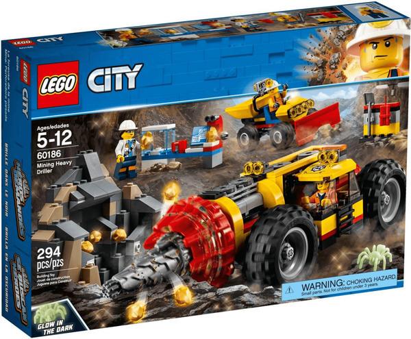 LEGO City - Schweres Bohrgerät für den Bergbau (60186)