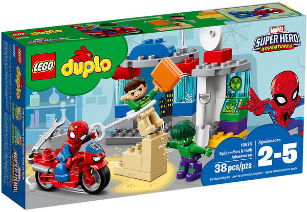 LEGO Duplo - Die Abenteuer von Spider-Man und Hulk (10876)