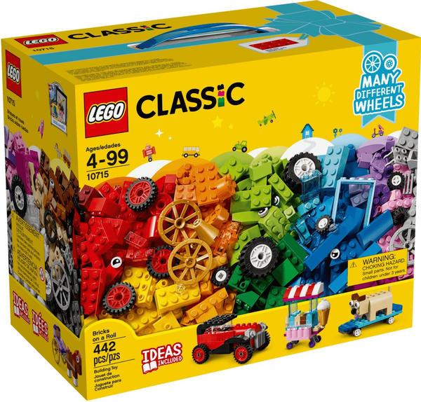 LEGO Classic - Kreativ-Bauset Fahrzeuge (10715)