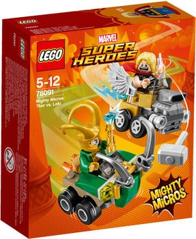 LEGO Marvel Super Heroes - Mighty Micros: Thos vs. Loki (76091)