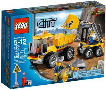 LEGO Bagger mit Kipplaster (4201)
