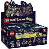 LEGO Minifigures Serie 14 Monster 60er Display sortiert (71010)