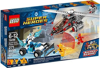 LEGO DC Comics Super Heroes - Speed Force Freeze Verfolgungsjagd (76098)