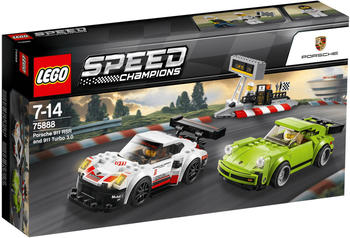 LEGO Speed Champions Porsche 911 RSR und 911 Turbo 3.0 (75888)