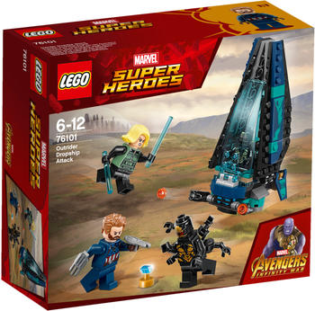 LEGO Marvel Super Heroes - Outrider Dropship-Attacke (76101)