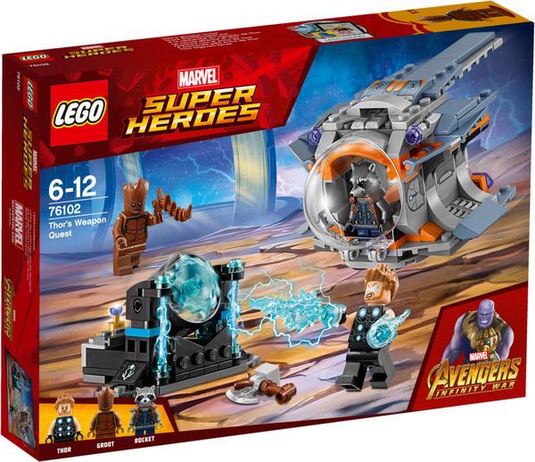 LEGO Marvel Super Heroes - Thors Stormbreaker Axt (76102)