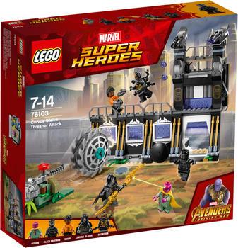 LEGO Marvel Super Heroes - Corvus Glaives Attacke (76103)
