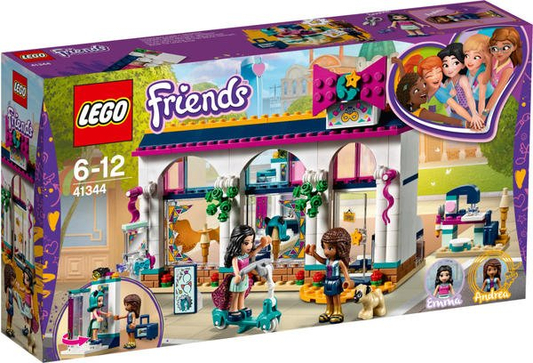 LEGO Friends - Andreas Accessoire-Laden (41344)