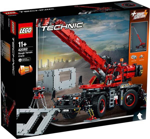 LEGO Geländegängiger Kranwagen
