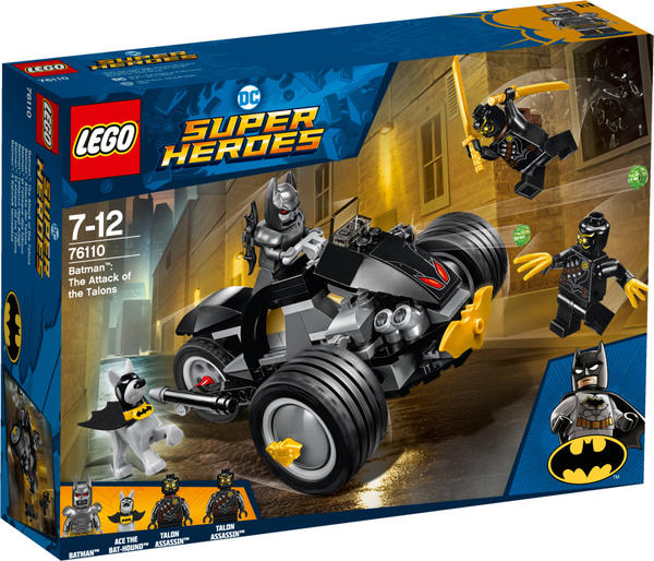 LEGO Lego® Dc 76110 Batman Attacke D Talons