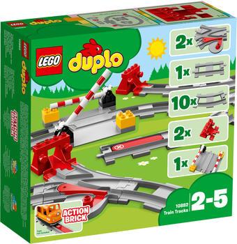 LEGO Duplo - Eisenbahn Schienen (10882)