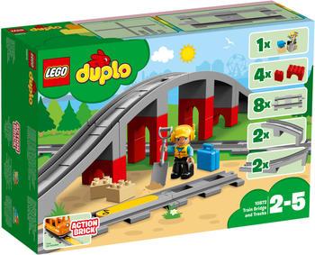 LEGO Duplo - Eisenbahnbrücke und Schienen (10872)