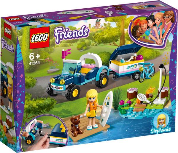 LEGO Friends Stephanies Cabrio mit Anhänger (41364)