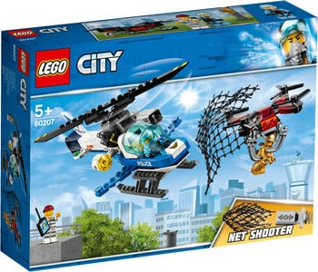 LEGO City Polizei Drohnenjagd (60207)