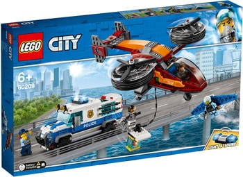 LEGO City Polizei Diamantenraub (60209)