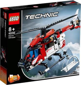 LEGO Technic - 2 in 1 Rettungshubschrauber (42092)